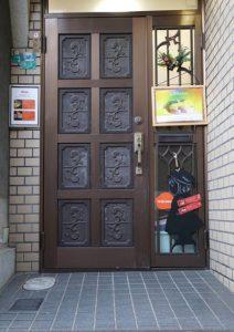 心彩salon玄関2